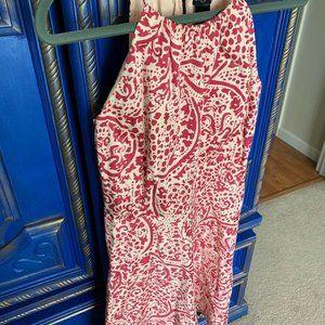 ⭐️ Ann Taylor LOFT Pink Sleeveless Dress Size XS